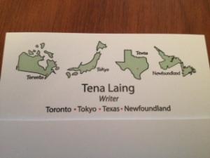 writer card